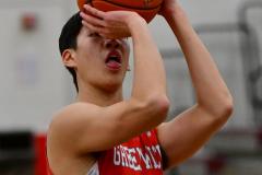 CIAC Boys Basketball; Wolcott 47 vs. Greenwich 76 - Photo # 343