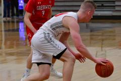 CIAC Boys Basketball; Wolcott 47 vs. Greenwich 76 - Photo # 363