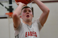 CIAC Boys Basketball; Wolcott 47 vs. Greenwich 76 - Photo # 389