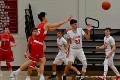 CIAC Boys Basketball; Wolcott 47 vs. Greenwich 76 - Photo # 395