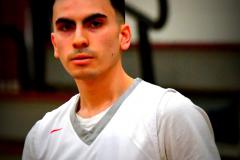 CIAC Boys Basketball; Wolcott 47 vs. Greenwich 76 - Photo # 421