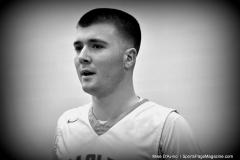 CIAC Boys Basketball; Wolcott 47 vs. Greenwich 76 - Photo # 430