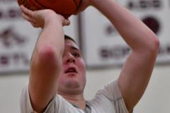 CIAC Boys Basketball; Wolcott 47 vs. Greenwich 76 - Photo # 461