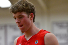 CIAC Boys Basketball; Wolcott 47 vs. Greenwich 76 - Photo # 496