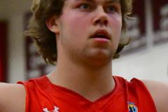 CIAC Boys Basketball; Wolcott 47 vs. Greenwich 76 - Photo # 497