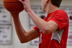 CIAC Boys Basketball; Wolcott 47 vs. Greenwich 76 - Photo # 507