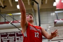 CIAC Boys Basketball; Wolcott 47 vs. Greenwich 76 - Photo # 584
