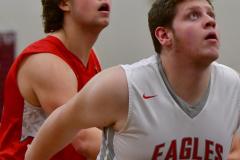 CIAC Boys Basketball; Wolcott 47 vs. Greenwich 76 - Photo # 608