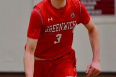 CIAC Boys Basketball; Wolcott 47 vs. Greenwich 76 - Photo # 631