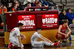CIAC Boys Basketball; Wolcott 47 vs. Greenwich 76 - Photo # 643