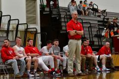 CIAC Boys Basketball; Wolcott 47 vs. Greenwich 76 - Photo # 657