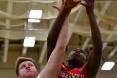 CIAC Boys Basketball; Wolcott 47 vs. Greenwich 76 - Photo # 686