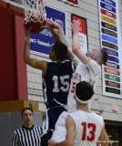 Gallery CIAC Boys Basketball; Wolcott 58 vs. Ansonia 71 - Photo # (102)