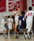Gallery CIAC Boys Basketball; Wolcott 58 vs. Ansonia 71 - Photo # (126)