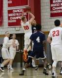 Gallery CIAC Boys Basketball; Wolcott 58 vs. Ansonia 71 - Photo # (127)