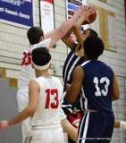 Gallery CIAC Boys Basketball; Wolcott 58 vs. Ansonia 71 - Photo # (129)