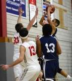 Gallery CIAC Boys Basketball; Wolcott 58 vs. Ansonia 71 - Photo # (130)