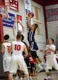 Gallery CIAC Boys Basketball; Wolcott 58 vs. Ansonia 71 - Photo # (131)