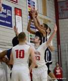 Gallery CIAC Boys Basketball; Wolcott 58 vs. Ansonia 71 - Photo # (132)