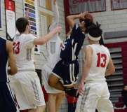 Gallery CIAC Boys Basketball; Wolcott 58 vs. Ansonia 71 - Photo # (144)