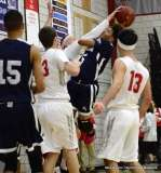 Gallery CIAC Boys Basketball; Wolcott 58 vs. Ansonia 71 - Photo # (145)