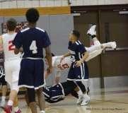 Gallery CIAC Boys Basketball; Wolcott 58 vs. Ansonia 71 - Photo # (174)