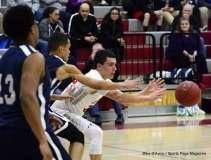 Gallery CIAC Boys Basketball; Wolcott 58 vs. Ansonia 71 - Photo # (176)