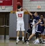 Gallery CIAC Boys Basketball; Wolcott 58 vs. Ansonia 71 - Photo # (206)