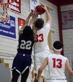 Gallery CIAC Boys Basketball; Wolcott 58 vs. Ansonia 71 - Photo # (208)