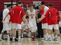 Gallery CIAC Boys Basketball; Wolcott 58 vs. Ansonia 71 - Photo # (67)