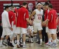 Gallery CIAC Boys Basketball; Wolcott 58 vs. Ansonia 71 - Photo # (70)