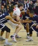 Gallery CIAC Boys Basketball; Wolcott 58 vs. Ansonia 71 - Photo # (89)