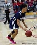 Gallery CIAC Boys Basketball; Wolcott 58 vs. Ansonia 71 - Photo # (98)