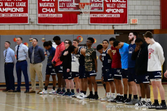 CIAC Boys Basketball; Wolcott vs. Ansonia - Photo # (125)
