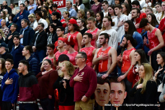CIAC Boys Basketball; Wolcott vs. Ansonia - Photo # (147)