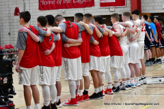 CIAC Boys Basketball; Wolcott vs. Ansonia - Photo # (161)