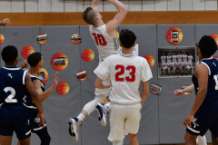 CIAC Boys Basketball; Wolcott vs. Ansonia - Photo # (185)