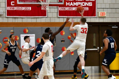 CIAC Boys Basketball; Wolcott vs. Ansonia - Photo # (195)