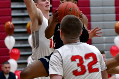 CIAC Boys Basketball; Wolcott vs. Ansonia - Photo # (226)