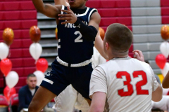 CIAC Boys Basketball; Wolcott vs. Ansonia - Photo # (227)