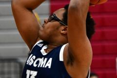 CIAC Boys Basketball; Wolcott vs. Ansonia - Photo # (256)