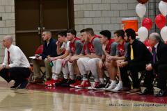 CIAC Boys Basketball; Wolcott vs. Ansonia - Photo # (259)