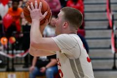 CIAC Boys Basketball; Wolcott vs. Ansonia - Photo # (277)