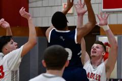 CIAC Boys Basketball; Wolcott vs. Ansonia - Photo # (294)