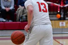 CIAC Boys Basketball; Wolcott vs. Ansonia - Photo # (304)