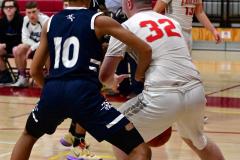 CIAC Boys Basketball; Wolcott vs. Ansonia - Photo # (314)