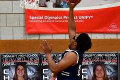 CIAC Boys Basketball; Wolcott vs. Ansonia - Photo # (320)