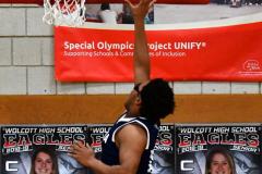 CIAC Boys Basketball; Wolcott vs. Ansonia - Photo # (321)