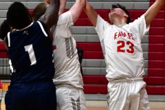 CIAC Boys Basketball; Wolcott vs. Ansonia - Photo # (326)