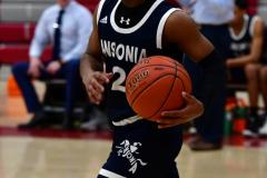 CIAC Boys Basketball; Wolcott vs. Ansonia - Photo # (328)